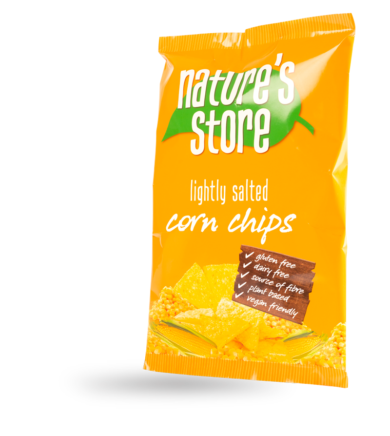 lightly salted corn chips